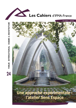 Cahier n°24 de la revue d'IFMA-France