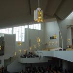 Eglise de Lahti, Finlande, A. Aalto